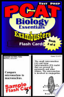 PCAT Test Prep Biology Review  Exambusters Flash Cards  Workbook 3 of 4