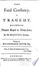The Fatal Constancy : ...