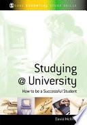 Studying at University