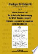 Die   sthetische Wahrnehmung der Welt  Giacomo Leopardi