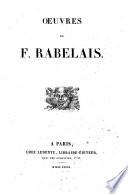Oeuvres de F  Rabelais