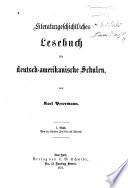 Literaturgeschichtliches Lesebuch F R Deutsch Amerikanische Schulen