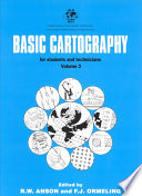 Basic Cartography for Students and Technicians
