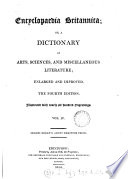 Encyclopædia Britannica: or, A dictionary of arts and sciences, compiled by a society of gentlemen in Scotland [ed. by W. Smellie]. Suppl. to the 3rd. ed., by G. Gleig