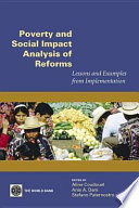 Poverty and Social Impact Analysis of Reforms