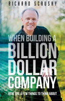 When Building a Billion Dollar Company
