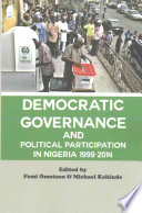 Democratic Governance and Political Participation in Nigeria 1999 - 2014
