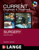 CURRENT Diagnosis and Treatment Surgery  Thirteenth Edition
