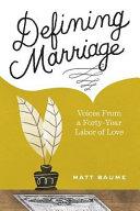Defining Marriage Book PDF
