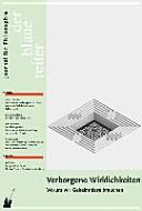 Der Blaue Reiter 35. Journal für Philosophie / Verborgene Wirklichkeiten