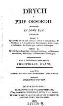 download ebook drych y prif sessoedd. yn ddwy ran. gan y diwedar barchedig---. (cymbr.) pdf epub
