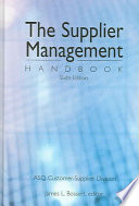 The Supplier Management Handbook