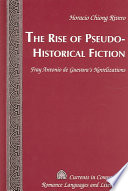 The Rise of Pseudo historical Fiction