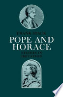 Pope and Horace
