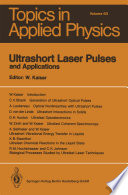 Ultrashort Laser Pulses and Applications