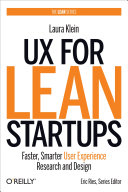UX for Lean Startups Book