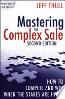 Ebook Mastering the Complex Sale Epub Jeff Thull Apps Read Mobile