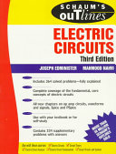 Schaum s outline of theory and problems of electric circuits