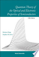 Quantum Theory of the Optical and Electronic Properties of Semiconductors