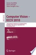 Computer Vision    ECCV 2010