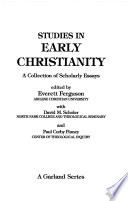 Doctrines of God and Christ in the Early Church