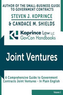 Government Contracts Joint Ventures