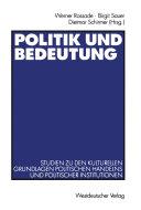 Politik und Bedeutung