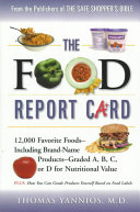 The Food Report Card