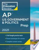 Princeton Review Ap U S Government Politics Prep 2021