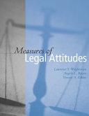 Measures of Legal Attitudes