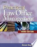 Practical Law Office Management