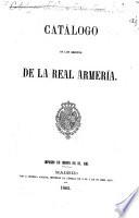 Catálogo de los objetos de la Real Armería
