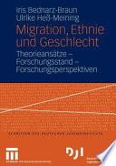 Migration Ethnie Und Geschlecht