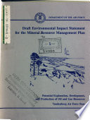 Potential Exploration Development And Production Of Oil And Gas Resources Vandenberg Air Force Base Afb Mineral Resources Management Plan