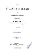 Het eiland Vlieland en zijne bewoners