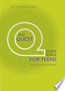 NIV  Quest Bible for Teens  eBook