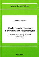 Musil s Socratic discourse in Der Mann ohne Eigenschaften
