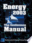 AMT Conference Manual 2003