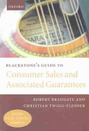Blackstone s Guide to Consumer Sales and Associated Guarantees