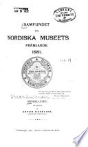 Meddelanden från Nordiska museet