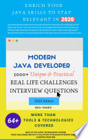 Stay Relevant In 2020 Java Developer 1000 Unique Real Life Challenges And Inteview Questions