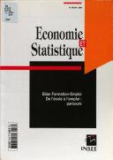 E   S    conomie et statistique