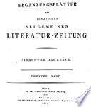 Jenaische allgemeine Literatur Zeitung