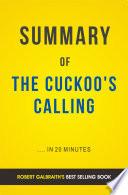 The Cuckoo s Calling  by Robert Galbraith   Summary   Analysis