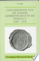 Geschiedenis van de Joodse gemeenschap in de Pekela's, 1683-1942