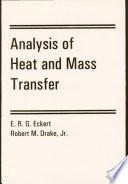 Analysis Of Heat And Mass Transfer