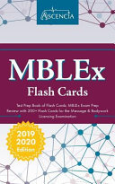 Mblex Test Prep Book Of Flash Cards Mblex Exam Prep Review With 200 Flashcards For The Massage Bodywork Licensing Examination