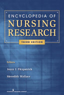 Encyclopedia of Nursing Research, Third Edition