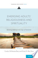 Emerging Adults  Religiousness and Spirituality