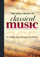 The Daily Book of Classical Music Book